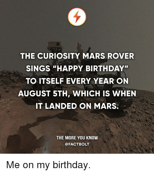 birthday of mars rover - photo #26