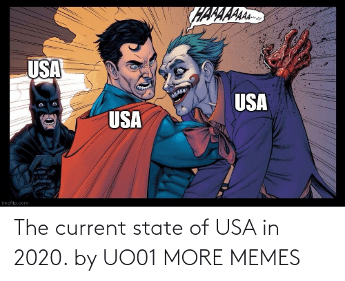 Current: The current state of USA in 2020. by UO01 MORE MEMES