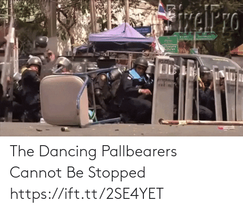 Dancing: The Dancing Pallbearers Cannot Be Stopped https://ift.tt/2SE4YET
