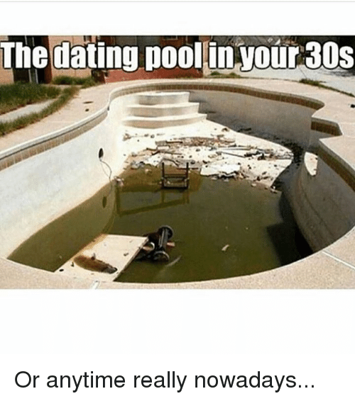 the dating pool in your 30s reddit Dating in med school for a girl disturbing trend if you limit your dating pool to other medical this will even out as you hit your 30s #22 operaman.
