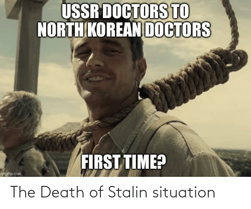 stalin: The Death of Stalin situation