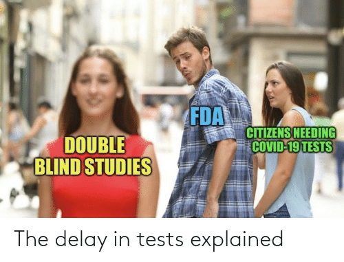delay: The delay in tests explained