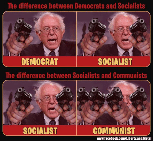 a comparison of the features of communism and democracy