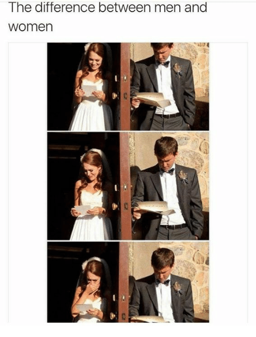 The Difference Between Men And Women Typical Male Attitude -7099