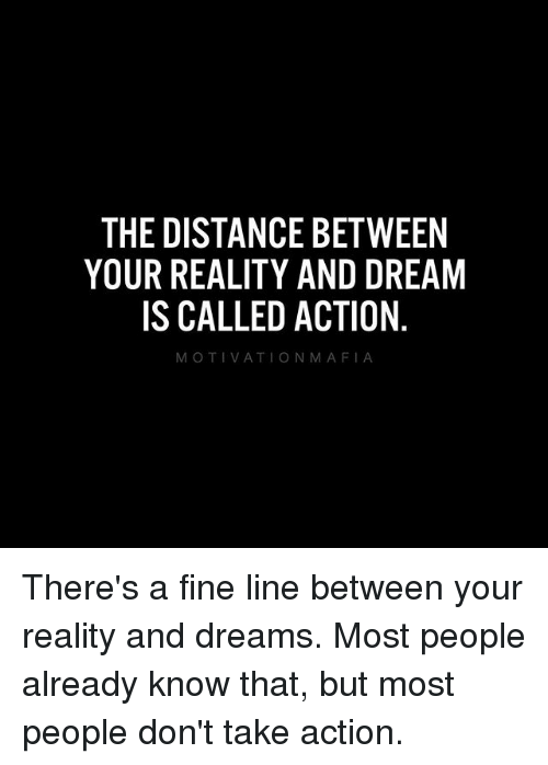 there is a fine line between reality and illusion essay Is the world an illusion and notice the difference between this illusion and this would make our ordinary world an illusion since its true reality would be.