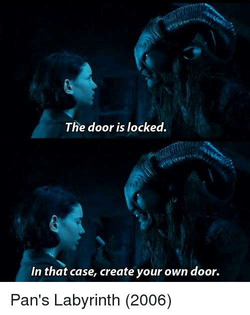 25 best memes about pans labyrinth pans labyrinth memes for Create your own door