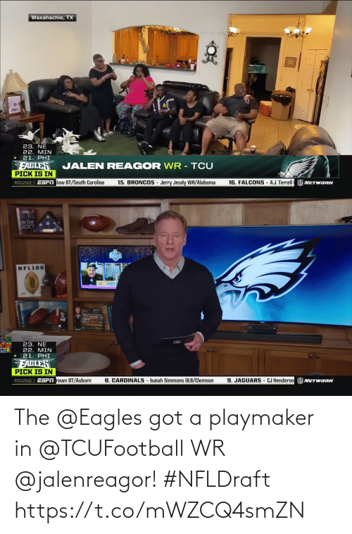 Philadelphia Eagles: The @Eagles got a playmaker in @TCUFootball WR @jalenreagor! #NFLDraft https://t.co/mWZCQ4smZN