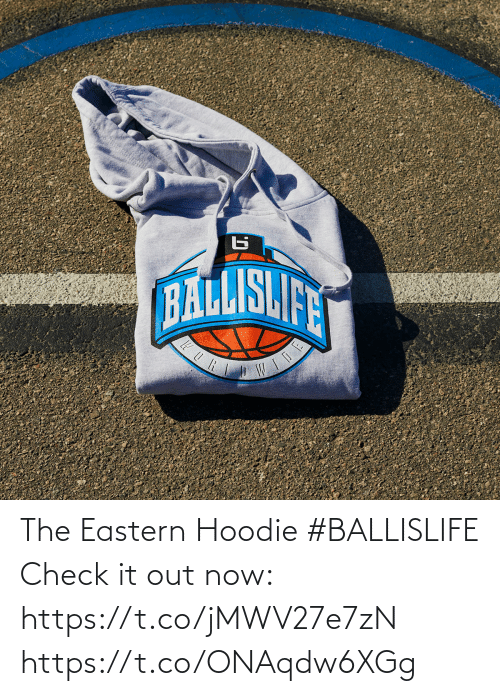 hoodie: The Eastern Hoodie #BALLISLIFE   Check it out now: https://t.co/jMWV27e7zN https://t.co/ONAqdw6XGg