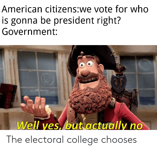 🔥 25+ Best Memes About Electoral College | Electoral ...