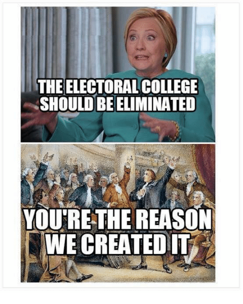 reasons for electoral college The electoral college remains in place over two centuries after the framers of the constitution empowered it to select presidents  and to a judicious combination of all the reasons and.