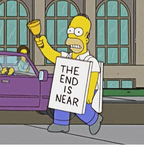 end-is-near: THE  END  IS  NEAR