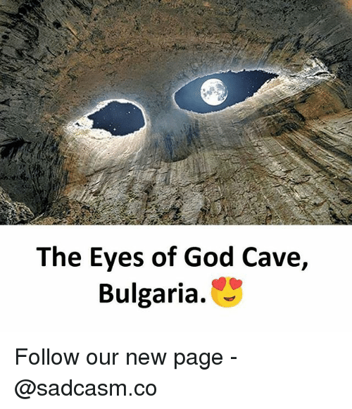 Bulgaria: The Eyes of God Cave,  Bulgaria. Follow our new page - @sadcasm.co