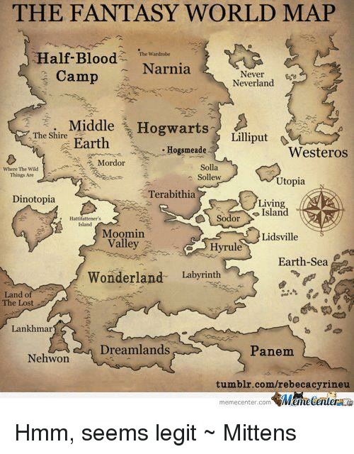 camping maps with The Fantasy World Map Half Blood Narnia C  Never Neverland Middle 4101938 on Head East further Map also Lacanau also Oman Wadi Ghul additionally Park.