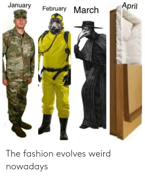 Fashion: The fashion evolves weird nowadays