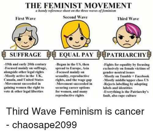 an overview of the second wave of the womens movement Zsecond wave of feminism- centered around women's liberation movement: second wave & women of color z1966- national organization for women is microsoft powerpoint - women_of_color_in_feminist_movementppt.