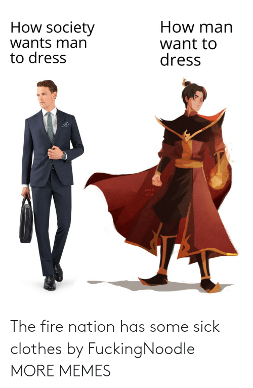 Clothes: The fire nation has some sick clothes by FuckingNoodle MORE MEMES