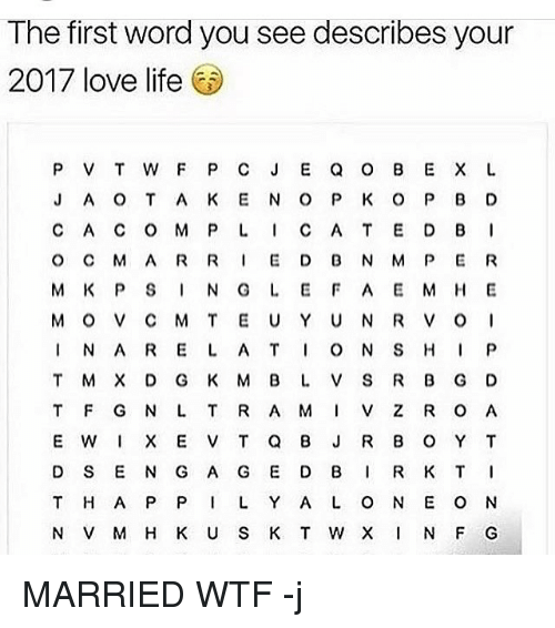 the first word you see describes your 2017 love life 9932419 the first word you see describes your 2017 love life p v t w f p c