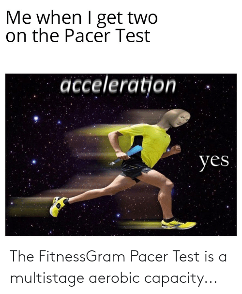 fitnessgram-pacer-test: The FitnessGram Pacer Test is a multistage aerobic capacity...