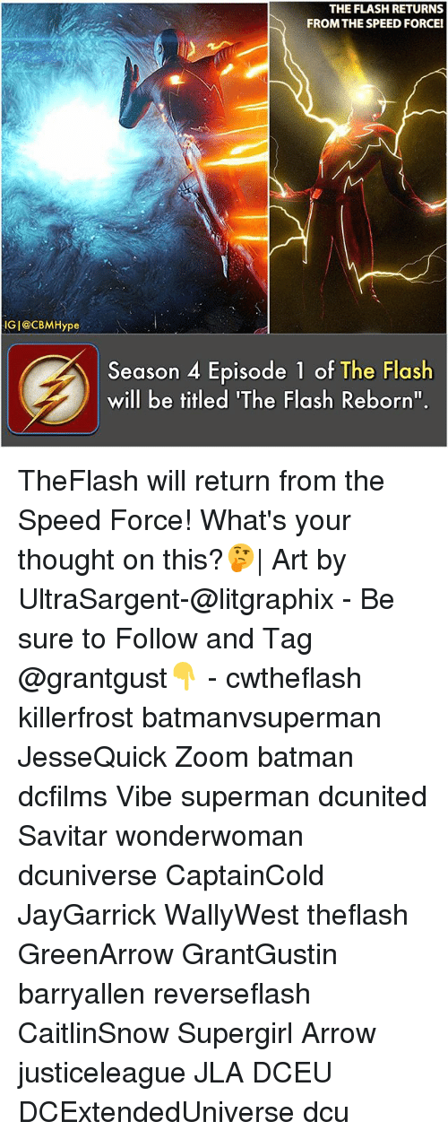 The FLASH RETURNS FROM THE SPEED FORCEl IG