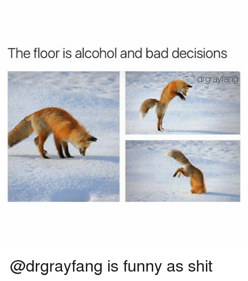 the floor is alcohol and bad decisions drgrayfang drgrayfang is 23799852 the floor is alcohol and bad decisions drgrayfang is funny as shit