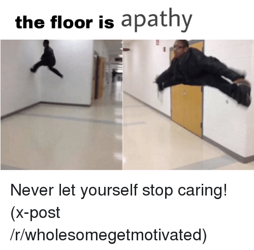 The floor is apathy apathy meme on sizzle for On the floor on the floor