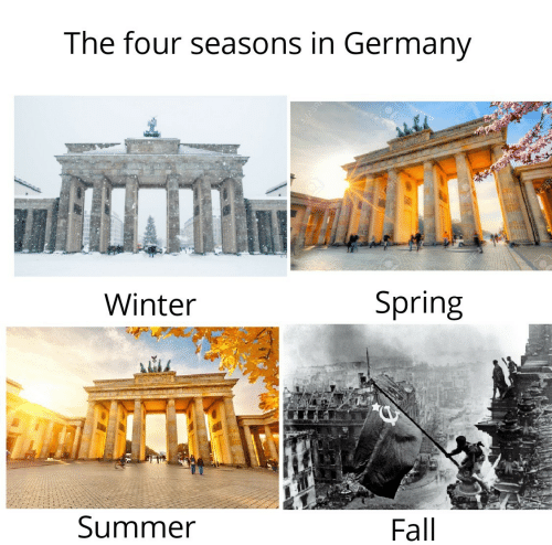 Seasons: The four seasons in Germany  123R  Winter  Spring  Summer  Fall  123R