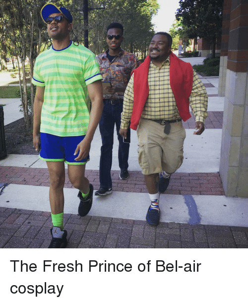 Fresh Prince of Bel-Air: The Fresh Prince of Bel-air cosplay
