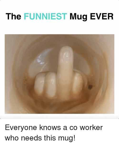 Memes, 🤖, and Who: The FUNNIEST Mug EVER Everyone knows a co worker who needs this mug!
