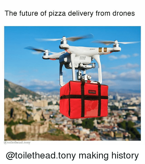 drone pizza delivery with The Future Of Pizza Delivery From Drones Rllf Atoilethead Tony Toilethead Tony 19091783 on Will Drones Replace The Pizza Delivery Guy moreover Now You Dont Even Have To Boil Water To Make Perfect Pa 1693828897 furthermore Rules Loosening For Domestic Drones furthermore Drone Remote Control Payload Release Mechanism as well Dominos.