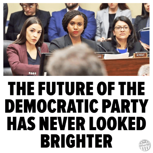 Democratic Party: THE FUTURE OF THE  DEMOCRATIC PARTY  HAS NEVER LOOKED  BRIGHTER  Other98