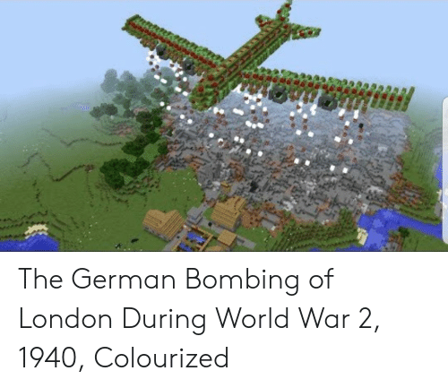 Colourized: The German Bombing of London During World War 2, 1940, Colourized