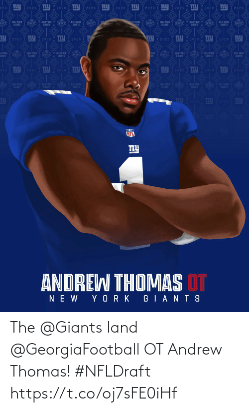 andrew: The @Giants land @GeorgiaFootball OT Andrew Thomas! #NFLDraft https://t.co/oj7sFE0iHf