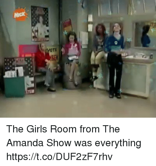 The Girls Room From the Amanda Show Was Everything ...