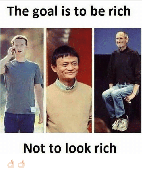 Goal, Dekh Bhai, and International: The goal is to be rich  Not to look rich 👌🏻👌🏻