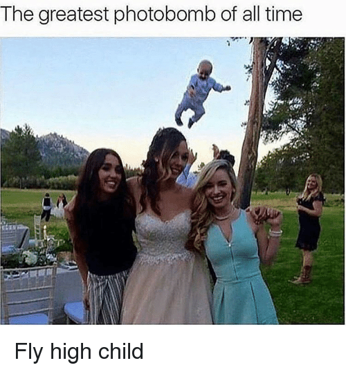 Hood, Photobombing, and  Photobombs: The greatest photobomb of all time Fly high child