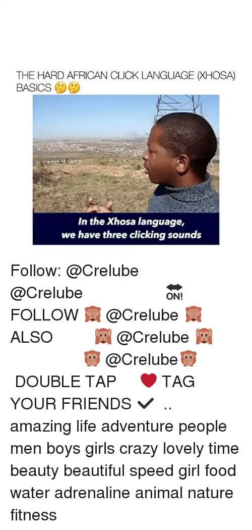 African Clicking Language.MOV - YouTube