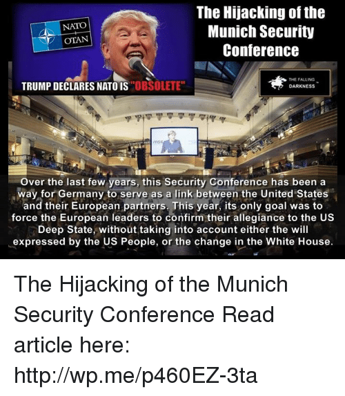 Image result for Munich security conference memes