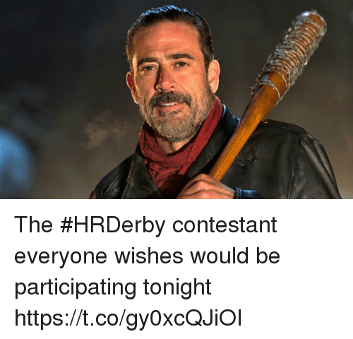 Sports, Everyone, and  Tonight: The #HRDerby contestant everyone wishes would be participating tonight https://t.co/gy0xcQJiOI