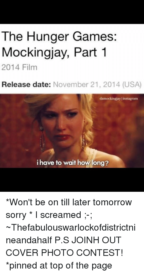The hunger games release date in Brisbane