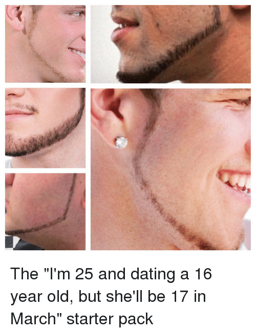 25 year old dating 17 year old