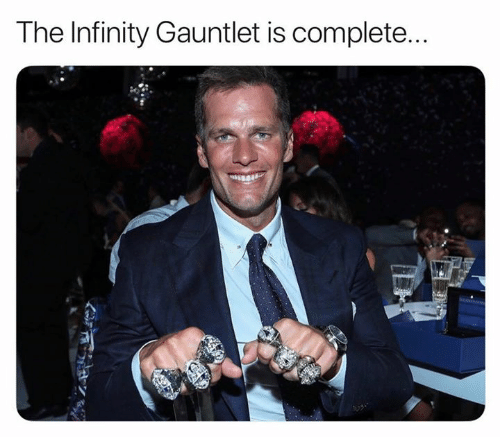 gauntlet: The Infinity Gauntlet is complete...