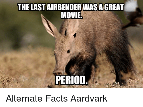 The LAST AIRBENDER WAS...