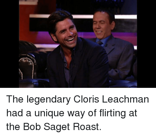 Dank, Roast, and Bob Saget: The legendary Cloris Leachman had a unique way of flirting at the Bob Saget Roast.