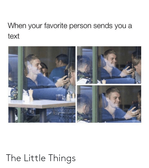 little things: The Little Things