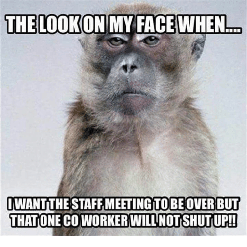 Funny Office Meeting Meme : Best memes about staff meeting