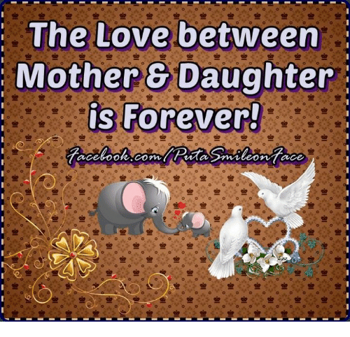 Mother Daughter: The Love between  Mother Daughter  is Forever!  tacebook