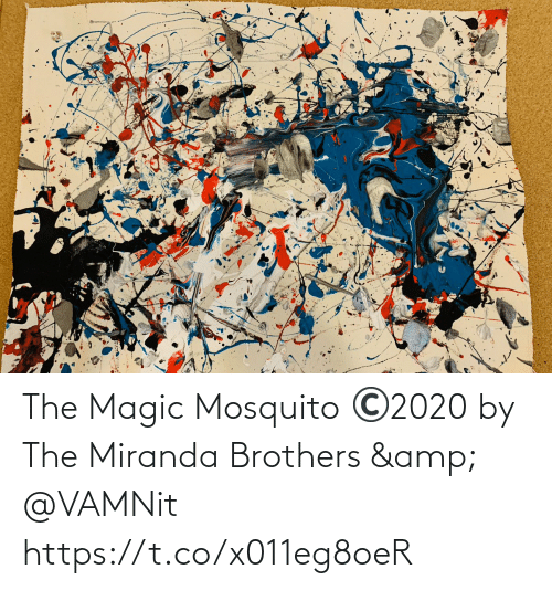 Magic: The Magic Mosquito ©️2020 by The Miranda Brothers & @VAMNit https://t.co/x011eg8oeR