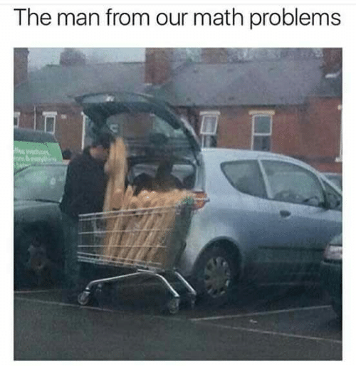 math problems: The man from our math problems