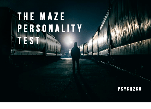 Test, Personality Test, and Personality: THE MAZE  PERSONALITY  TEST  PSYCH2GO