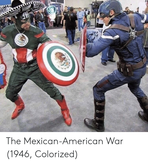the mexican: The Mexican-American War (1946, Colorized)